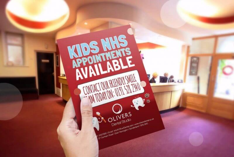 Oliver's Dental - Kids Flyer