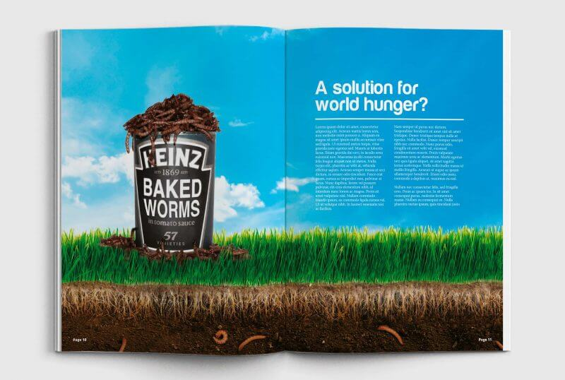 Future Foods - Editorial Design