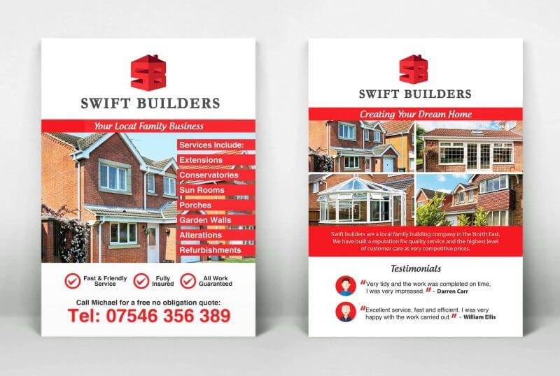 Swift Builders - Logo & Flyers