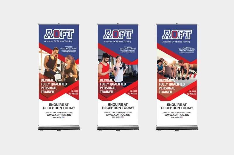 AOFT - Banner Stands
